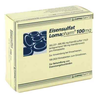 Eisensulfat Lomapharm 100mg  bei deutscheinternetapotheke.de bestellen