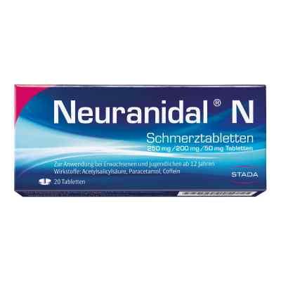 Neuranidal N Schmerztabletten  bei deutscheinternetapotheke.de bestellen