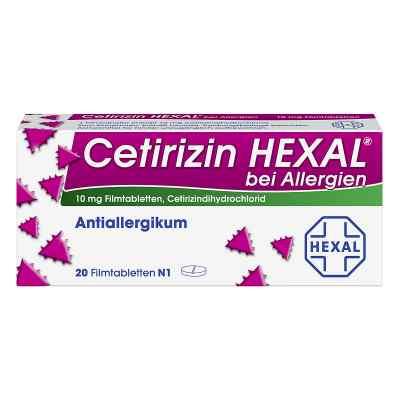 Cetirizin HEXAL bei Allergien  bei deutscheinternetapotheke.de bestellen