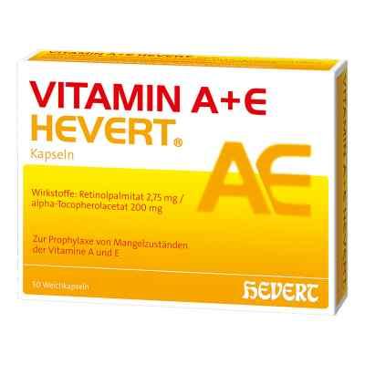 Vitamin A+e Hevert Kapseln  bei deutscheinternetapotheke.de bestellen