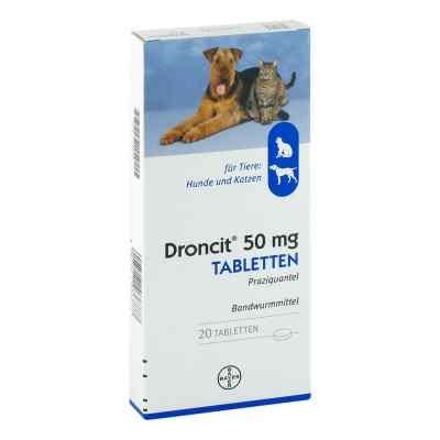 Droncit Tabletten für Hunde/katzen  bei deutscheinternetapotheke.de bestellen