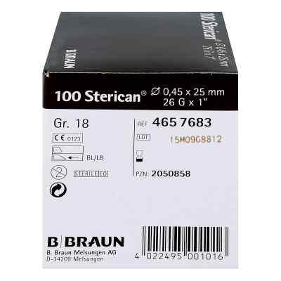 Sterican Kanüle luer-lok 0,45x25mm Größe 1 8 braun  bei deutscheinternetapotheke.de bestellen