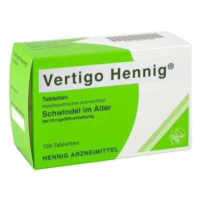 Vertigo Hennig Tabletten  bei deutscheinternetapotheke.de bestellen
