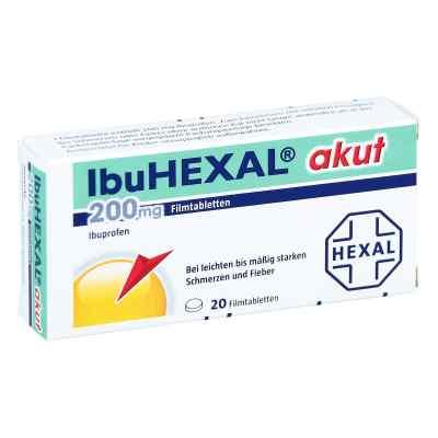 IbuHEXAL akut 200mg  bei deutscheinternetapotheke.de bestellen