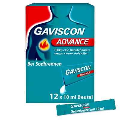 Gaviscon Advance Pfefferminz 1000mg/200mg Dosierbeutel  bei deutscheinternetapotheke.de bestellen