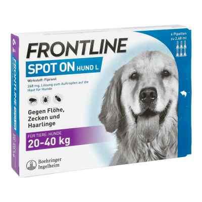 Frontline Spot on Hund 40 veterinär Lösung gegen Flöhe und Zecke  bei deutscheinternetapotheke.de bestellen
