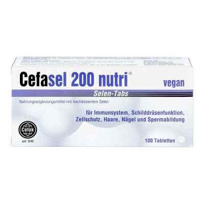 Cefasel 200 nutri Selen Tabs Tabletten  bei deutscheinternetapotheke.de bestellen