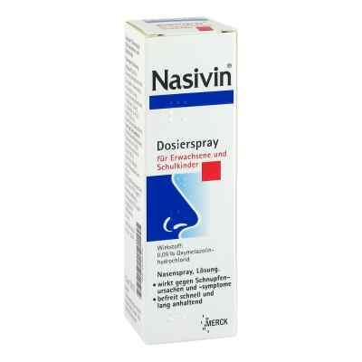 Nasivin Dosierspray für Erwachsene und Schulkinder 0,05%  bei deutscheinternetapotheke.de bestellen