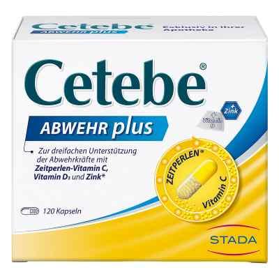 Cetebe Abwehr plus Vitamin C+vitamin D3+zink Kapsel (n)  bei deutscheinternetapotheke.de bestellen