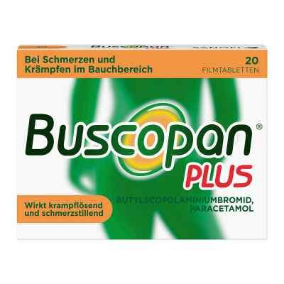 Buscopan PLUS Filmtabletten bei Bauchschmerzen & Regelschmerzen  bei deutscheinternetapotheke.de bestellen