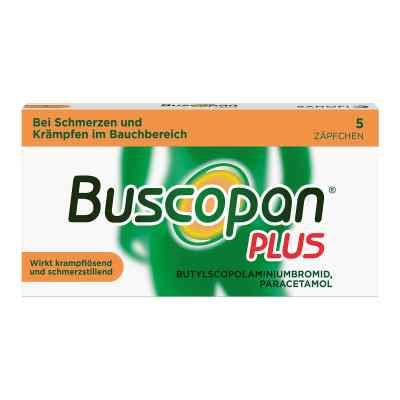 Buscopan PLUS Zäpfchen mit Paracetamol, bei Bauchschmerzen  bei deutscheinternetapotheke.de bestellen