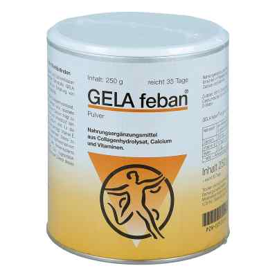 Gelafeban Pulver mit Gelatinehydrolysat plus  bei deutscheinternetapotheke.de bestellen