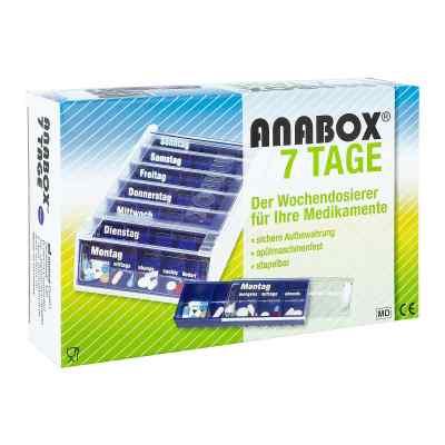 Anabox 7 Tage Wochendosierer blau  bei deutscheinternetapotheke.de bestellen
