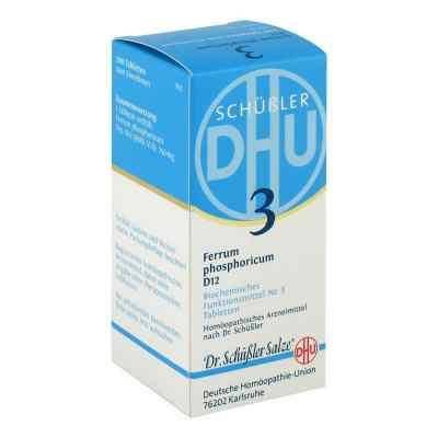 Biochemie Dhu 3 Ferrum phosphorus D  12 Tabletten  bei deutscheinternetapotheke.de bestellen