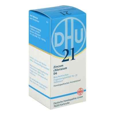 Biochemie Dhu 21 Zincum chloratum D 6 Tabletten  bei deutscheinternetapotheke.de bestellen