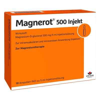 Magnerot 500 Injekt Ampullen  bei deutscheinternetapotheke.de bestellen