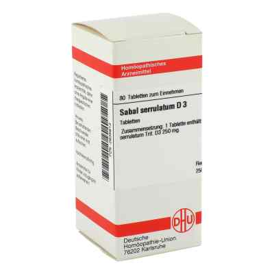 Sabal Serrul. D3 Tabletten  bei deutscheinternetapotheke.de bestellen