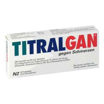 TITRALGAN gegen Schmerzen  bei deutscheinternetapotheke.de bestellen