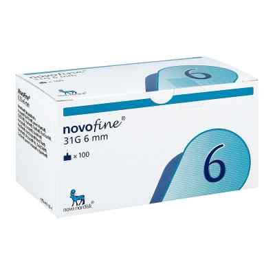 Novofine 6 mm Kanülen 31 G Cpc  bei deutscheinternetapotheke.de bestellen