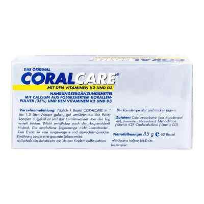 Coralcare mit Vitamin D3 und K2 2-Monatspackung  bei deutscheinternetapotheke.de bestellen