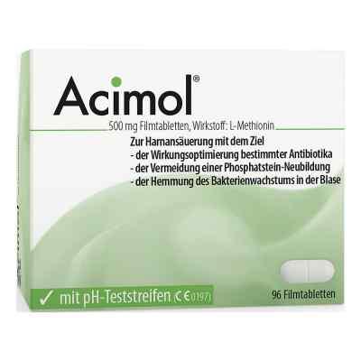 Acimol mit pH Teststreifen Filmtabletten  bei deutscheinternetapotheke.de bestellen