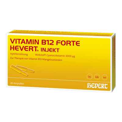 Vitamin B12 Hevert forte Injekt Ampullen  bei deutscheinternetapotheke.de bestellen