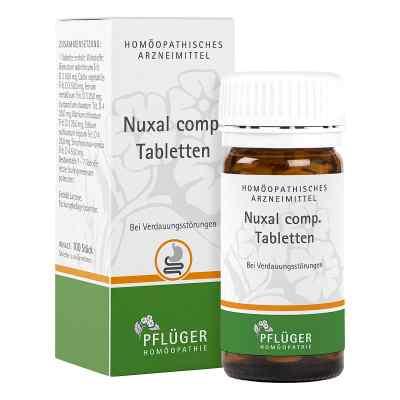 Nuxal compositus Tabletten  bei deutscheinternetapotheke.de bestellen