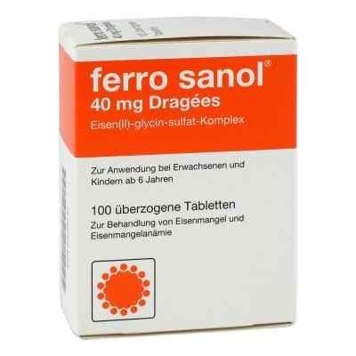 Ferro sanol 40mg Dragees  bei deutscheinternetapotheke.de bestellen