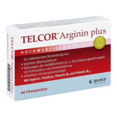 Telcor Arginin plus Filmtabletten  bei deutscheinternetapotheke.de bestellen