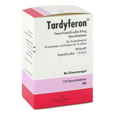 Tardyferon Depot-Eisen(II)-sulfat 80mg  bei deutscheinternetapotheke.de bestellen