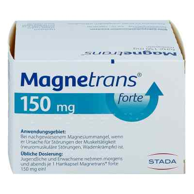 Magnetrans forte 150 mg Hartkapseln  bei deutscheinternetapotheke.de bestellen