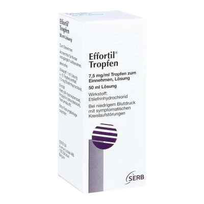 Effortil Tropfen bei niedrigem Blutdruck und Kreislaufstörungen  bei deutscheinternetapotheke.de bestellen