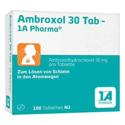 Ambroxol 30 Tab-1A Pharma  bei deutscheinternetapotheke.de bestellen