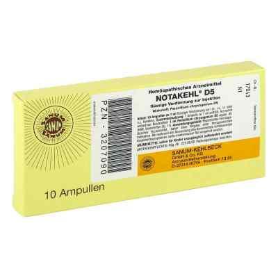 Notakehl D5 Ampullen  bei deutscheinternetapotheke.de bestellen