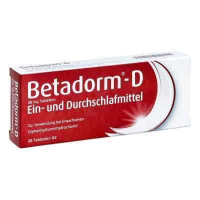 Betadorm-D  bei deutscheinternetapotheke.de bestellen