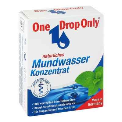 One Drop Only natürl.Mundwasser Konzentrat  bei deutscheinternetapotheke.de bestellen