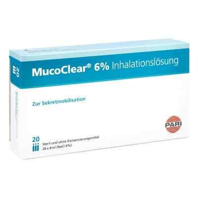 Mucoclear 6% Nacl Inhalationslösung  bei deutscheinternetapotheke.de bestellen