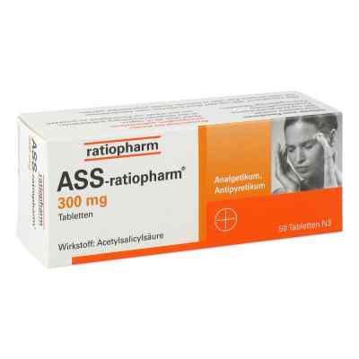 ASS-ratiopharm 300mg  bei deutscheinternetapotheke.de bestellen