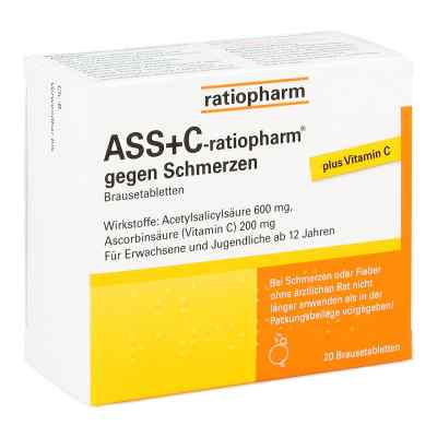 ASS+C-ratiopharm gegen Schmerzen  bei deutscheinternetapotheke.de bestellen