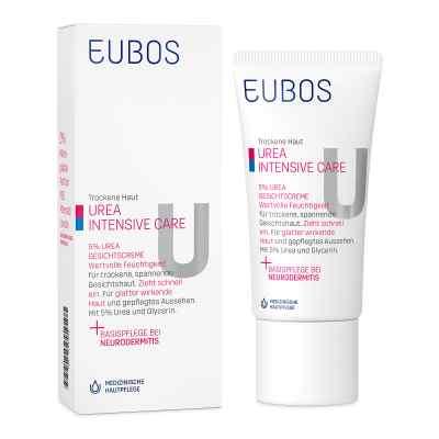 Eubos Trockene Haut Urea 5% Gesichtscreme  bei deutscheinternetapotheke.de bestellen