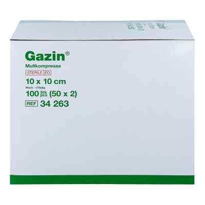 Gazin Kompressen 10x10cm 8fach steril  bei deutscheinternetapotheke.de bestellen