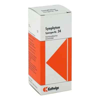 Synergon 34 Symphytum Tropfen  bei deutscheinternetapotheke.de bestellen