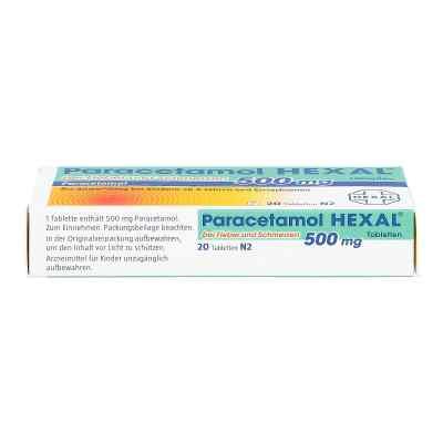 Paracetamol 500mg HEXAL bei Fieber und Schmerzen  bei deutscheinternetapotheke.de bestellen