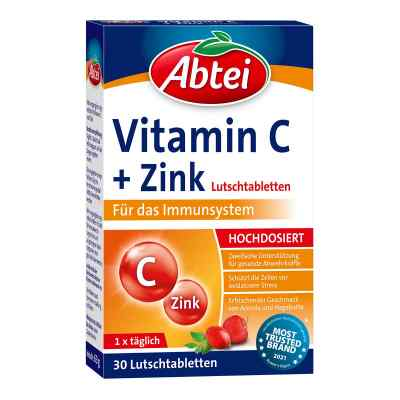 Abtei Vitamin C plus Zink Lutschtabletten  bei deutscheinternetapotheke.de bestellen