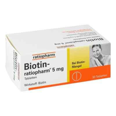 Biotin Ratiopharm 5 mg Tabletten  bei deutscheinternetapotheke.de bestellen