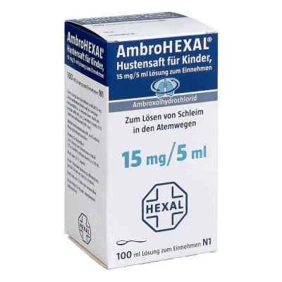 AmbroHEXAL Hustensaft für Kinder 15mg/5ml  bei deutscheinternetapotheke.de bestellen