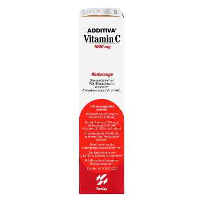 Additiva Vitamin C Blutorange Brausetabletten  bei deutscheinternetapotheke.de bestellen