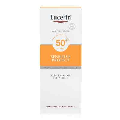 Eucerin Sun Sensitive Protect Lotion Extra Light LSF 50+  bei deutscheinternetapotheke.de bestellen