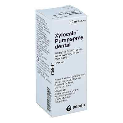 Xylocain Pumpspray Dental  bei deutscheinternetapotheke.de bestellen