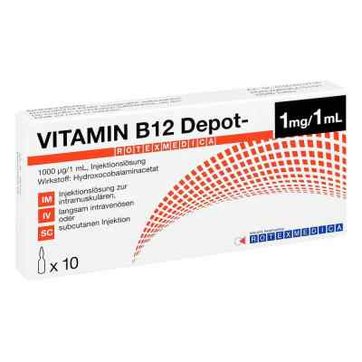 Vitamin B12 Depot Rotexmedica Injektionslösung  bei deutscheinternetapotheke.de bestellen